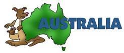 Austrália - poloha a povrch